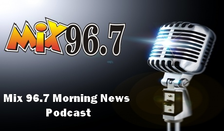 Mix 96.7 Morning News with Pat McCauley