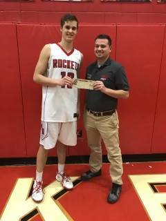 Player of the game 1-19-18 North Baltimore vs Pandora-Gilboa - Drew Johnson of Pandora-Gilboa
